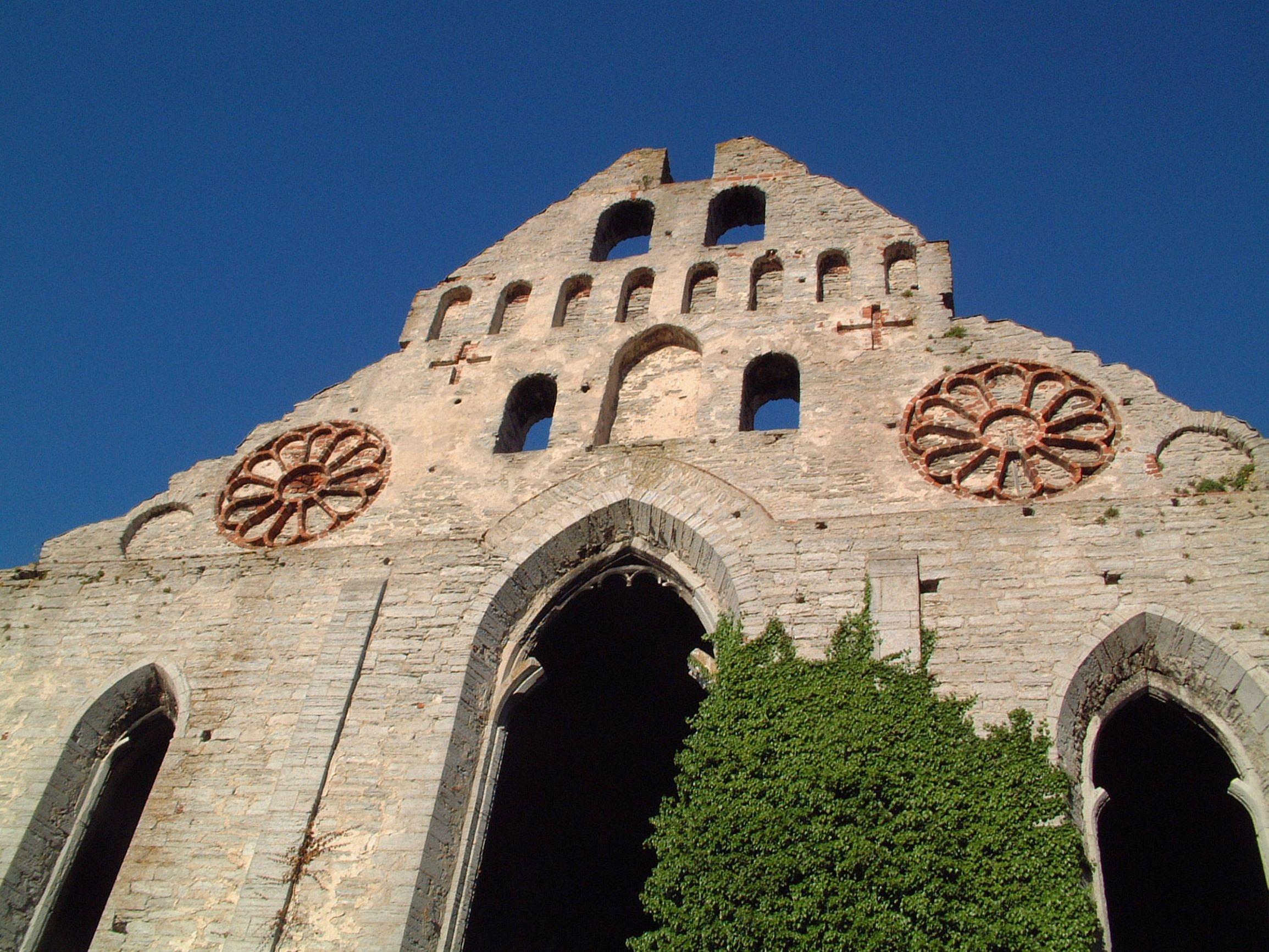 Sankt Nicolai ruin i Visby