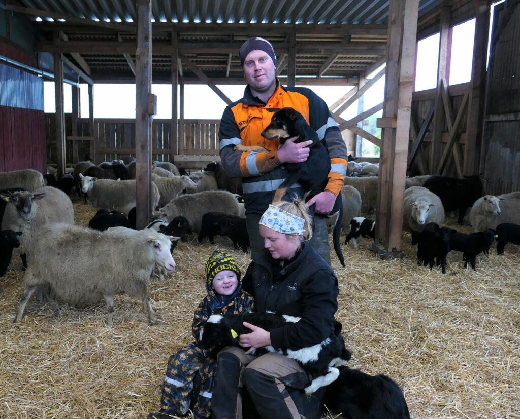 Familjen på Glose gård